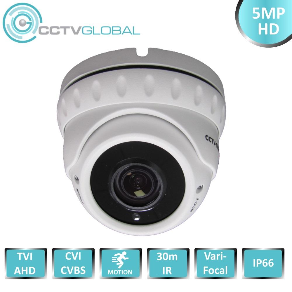 TVI 2.4MP 1080P CCTV Security Camera Wide Vari 2.8-12mm Night Lens CCTV Camera
